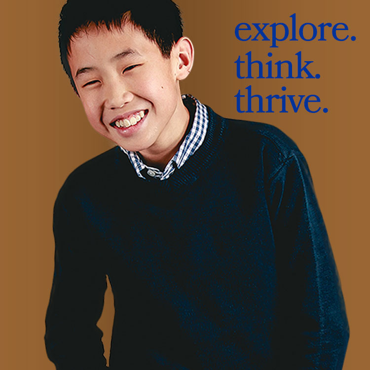 Explore. Think. Thrive.